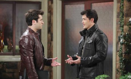 Sonny Meets Up With Paul - Days of Our Lives