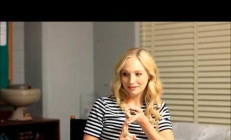 Candice King on Steroline, Curveballs Ahead