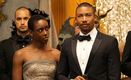 Marcel and Aya - The Originals Season 3 Episode 4