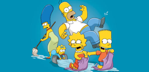 The Simpsons Family Photo