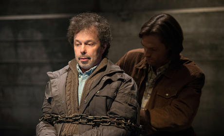 Sam and Metatron - Supernatural Season 10 Episode 10