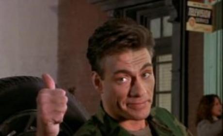 Jean-Claude Van Damme on Friends