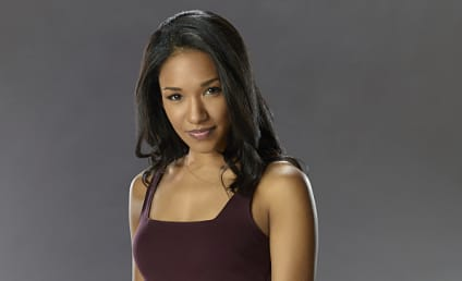The Flash Q&A: Candice Patton on Iris' Passion, Feelings for Barry
