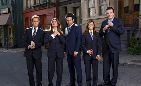 How I Met Your Mother Cast Picture