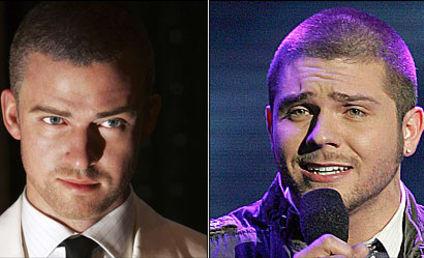American Idol Look-alike: Chris Richardson and Justin Timberlake