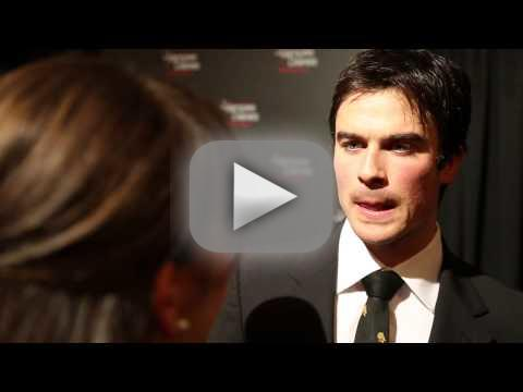 Ian Somerhalder Red Carpet Interview