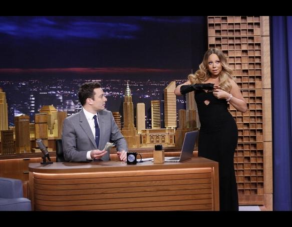 Mariah Carey on The Tonight Show