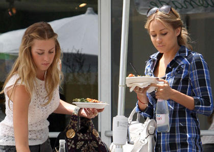 Lauren Conrad and Whitney Port Photo