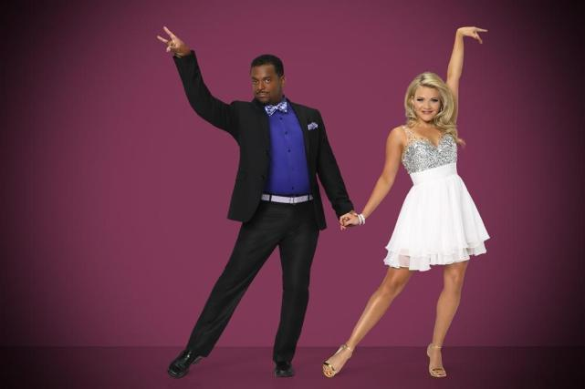 Alfonso Ribeiro and Witney Carson - Dancing With the Stars