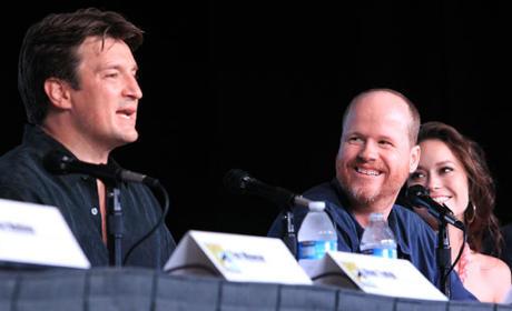 Firefly Comic-Con Panel: Tears and Cheers
