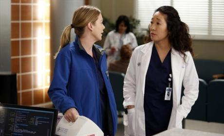 Cris and Mer Chat