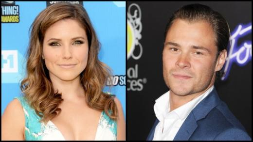 sophia Bush and Patrick Flueger Image