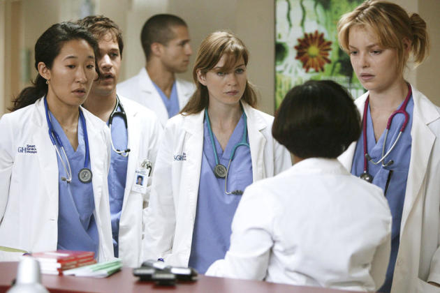an analysis of doctor meredith grey from the medical drama greys anatomy Show guide for grey's anatomy  genres: drama romance medical episodes ordered: 24 episodes  as dr meredith grey chandra wilson.