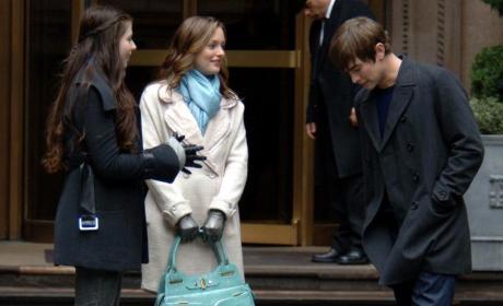 Filming Gossip Girl Scenes