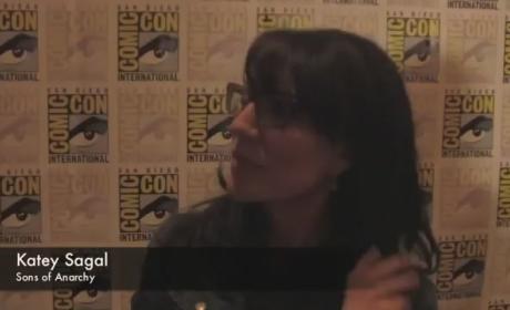 Katey Sagal Comic-Con Interview