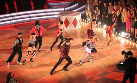 Team Creepy Dancing Freestyle on Dancing with the Stars Season 19 Episode 9