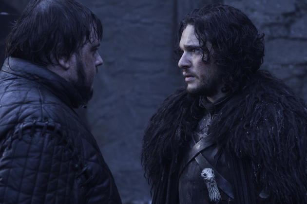 Jon Snow and Sam