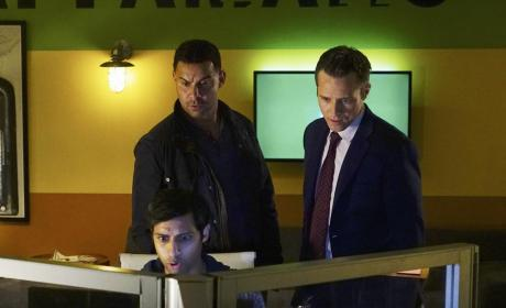 Esposito & Ryan On the Case - Castle Season 7 Episode 5