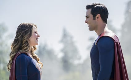 Supergirl Photo Preview: Superman is on the Scene!