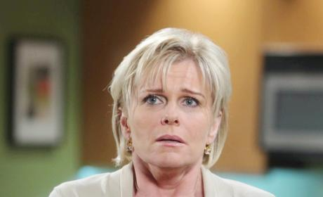 Adrienne Hears a Secret - Days of Our Lives