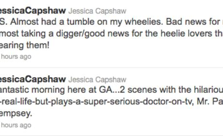 Jessica Capshaw Dishes On ...