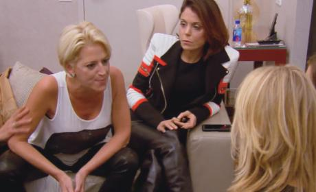 Dorinda Gets Angry - The Real Housewives of New York City