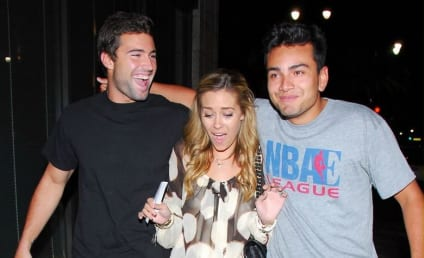 Lauren Conrad Parties with Brody Jenner