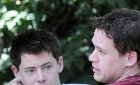 T.R. Knight, Boyfriend Out & About