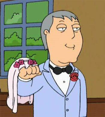 Adam West on Family Guy