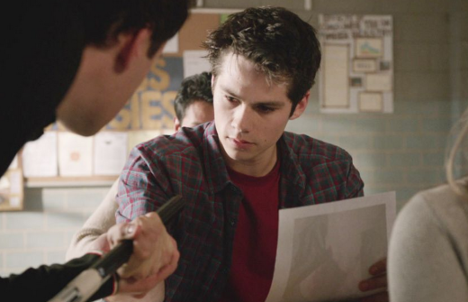 Stiles on Teen Wolf