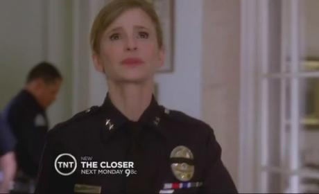 "The Closer Episode Promo: ""Repeat Offender"""