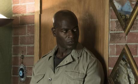 Dembe is ready to go - The Blacklist Season 4 Episode 2