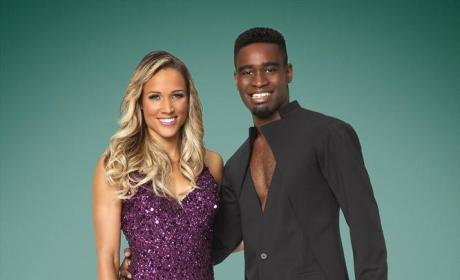 Lolo Jones and Keo Motsepe - Dancing With the Stars