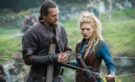 Lagertha's Big News - Vikings Season 4 Episode 5
