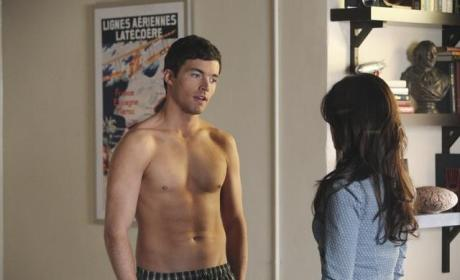 Shirtless Ezra
