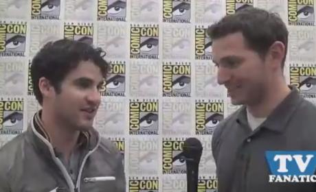 Darren Criss Exclusive: How is Blaine Like a Superhero?