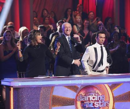 Judging the Dancers