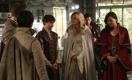 Once Upon a Time Photos: Who Has the Bigger Challenge?