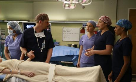 Alex is Concerned - Grey's Anatomy Season 12 Episode 10