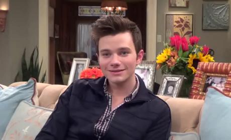 Chris Colfer Talks Glee Finale