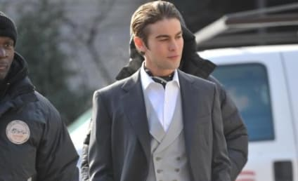 Chace Crawford Looking Sharp, Slicked-Back