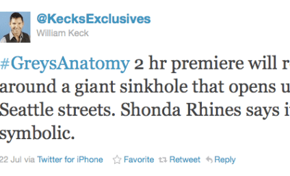 Coming to Grey's Anatomy: Sinkhole in Seattle