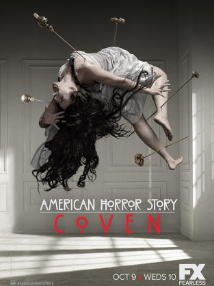 Crazy American Horror Story: Coven Poster
