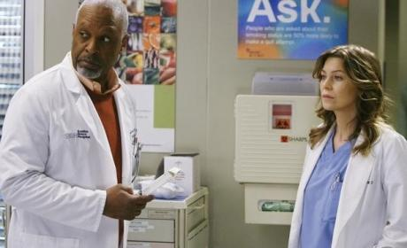 Grey's Anatomy Spoilers: Meredith and the Chief Fight!