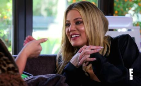 Khloe Cracks Up - Keeping Up with the Kardashians