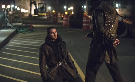 On His Knees - Arrow Season 3 Episode 23