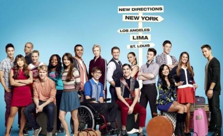 Glee Cast Photograph