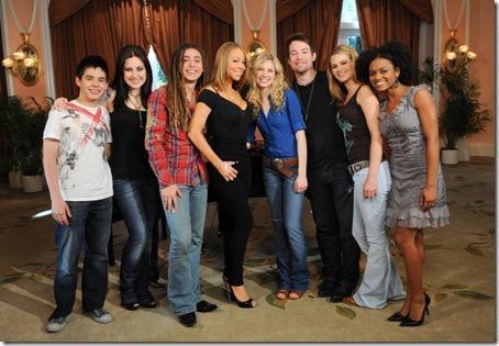 Mariah and her Idols