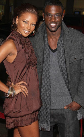 Eva Marcille and Lance Gross