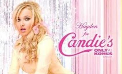 Hayden Panettiere is a Candie's Girl
